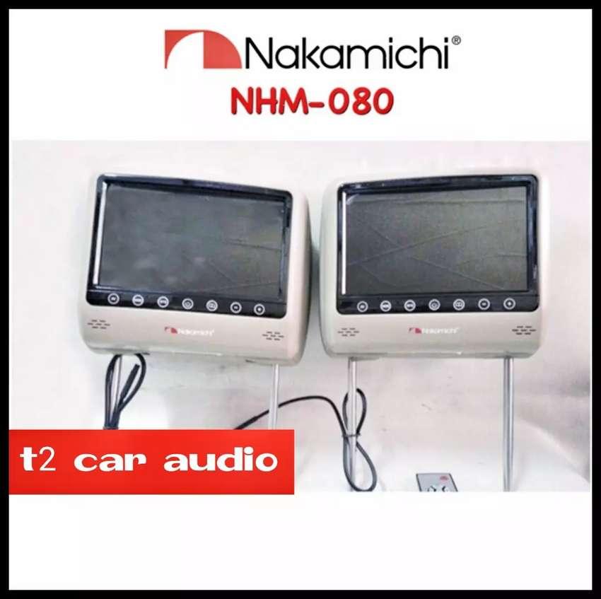 Terlaris monitor headrest NAKAMICHI japan 8inc full hd mumer gan 0