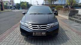 Honda city E rs matic hitam 2013 TDP 7 JUTA
