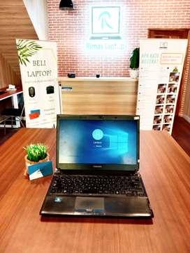 LAPTOP TOSHIBA DYNABOOK CORE i3 RAM 4 GB HDD 320 GB BEKAS SECOND