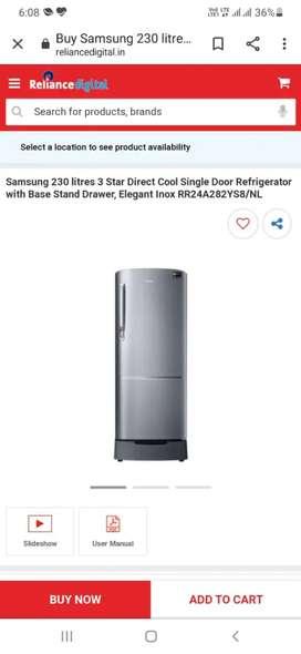 Samsung fridge 230