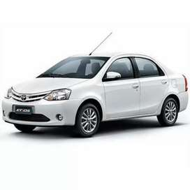 Etios, taxi car, second finance available