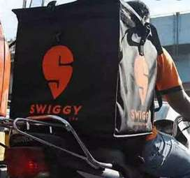 Urgent hiring in swiggy delivery boy