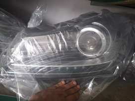 Mercedes Benz  Front head lights Face lift modal