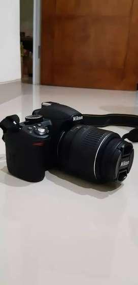 NIKON D3100 EOS kit 1855mm DSLR nego