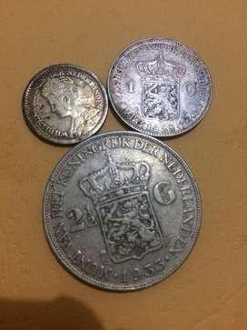 Koin koin kuno dan lama old coin payakumbuh