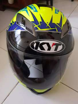 Helm full face KYT model vendeta double visor