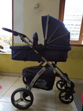 Stroller Baby Elle Onyx MASIH GRESS