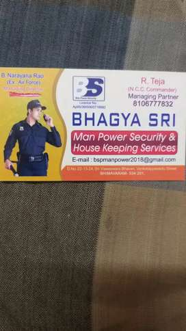 Urgent wanted security guards and helpers salary