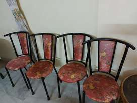 Sofa and Wrought Iron Chairs