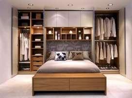 Kitchen set // wardrobe // kabinet // credenza . Apartemen // cafe