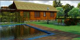 2 bhk Bungalow with swimming pool,mango trees,10000 sft land at 35 lac