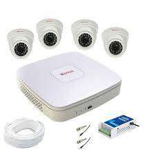 4 HD CCTV Camera setup installation