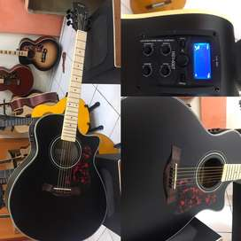 Gitar Akustik Elektrik Gibson , Cort ,Yamaha Apx500 , Taylor
