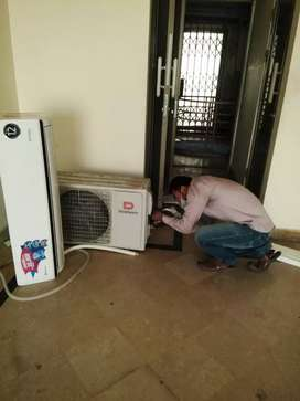 Split AC installations and services in all over islamabad