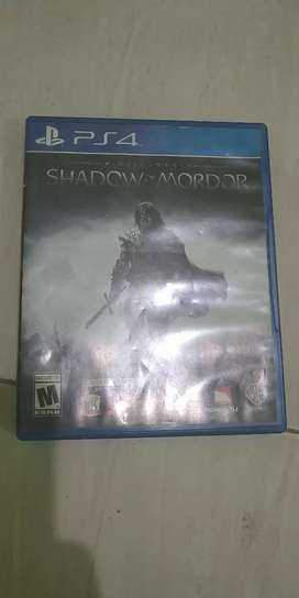 BD PS4 SHADOW MORDOR