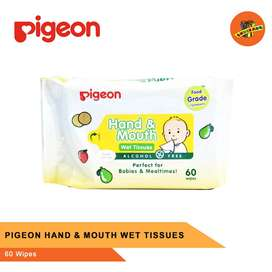 PIGEON HAND AND MOUTH WET TISSUES - Tissue Basah Bayi