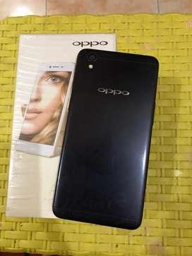 Oppo A37 hitam fullset