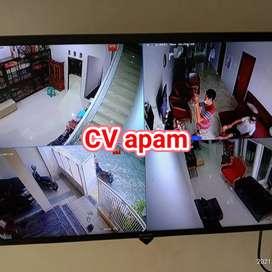 Cctv hilook 4 ch 1 camera Cipayung