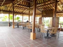 Disewakan Ruang Usaha Restaurant di Pererenan dengan view sawah abadi