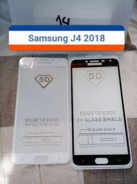 Anti gores kaca Full Screen Samsung J4 2018
