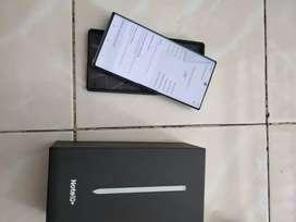 Samsung Note 10Plus ram 12/256 Lengkap orignal garansi Inter No minus
