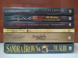 Paket 3 Novel Asing Best Seller (bhs Indo)