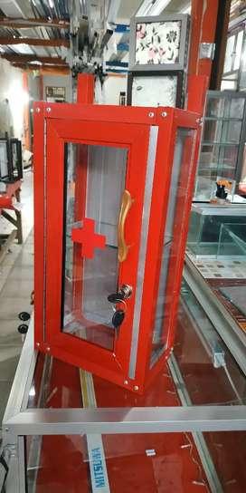 Promo Kotak Obat P3K Aluminium 21x13x40cm