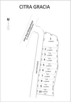 Kavling tepi jalan raya mangunharjo tembalang murah