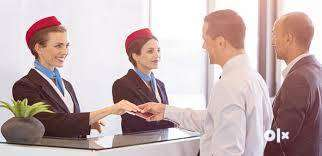 Grow your Job career with Airline company / Ground staff job highly on 0