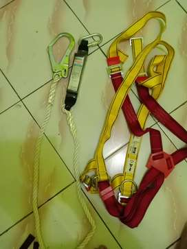 Full body harnest double hook protecta