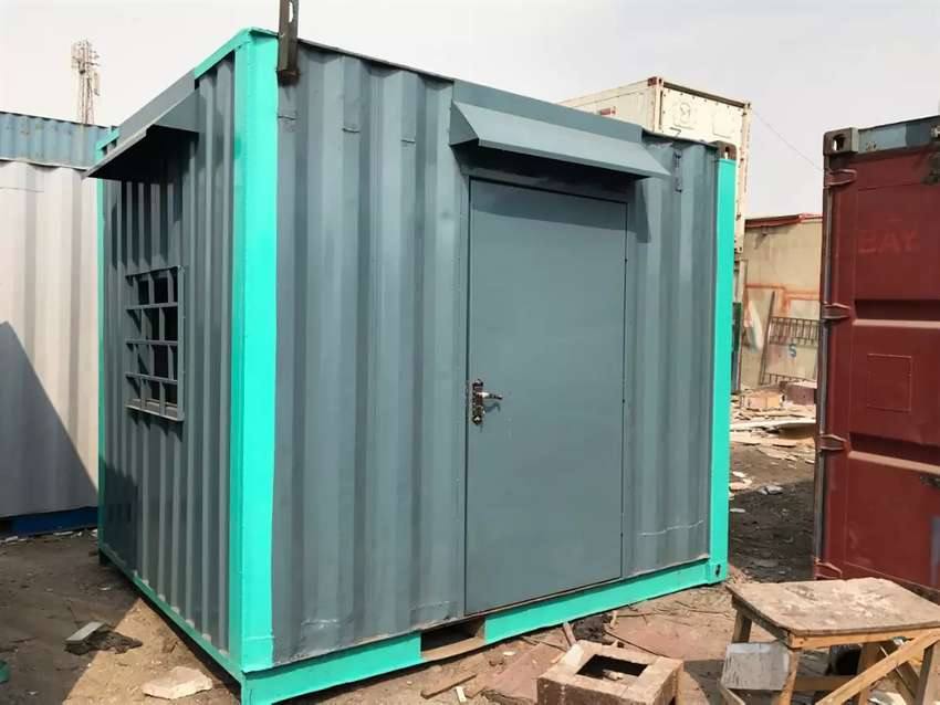 Container office and container godown 0