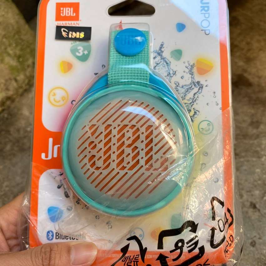 JBL Jr Pop Bluetooth Speaker Teal garansi resmi 0