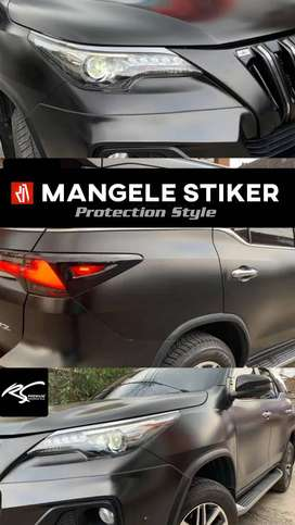 stiker mobil mangele wrapping sticker terpopuler garansi lifetime