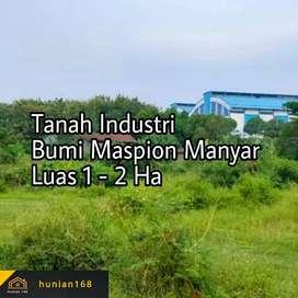 SEWA Tanah Kavling Industri Gudang Bumi Maspion Romokalisari Manyar