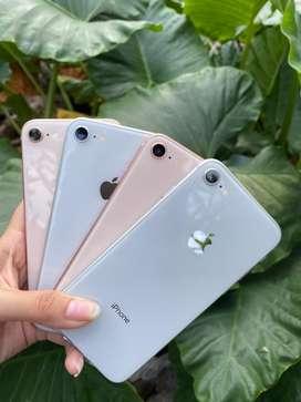 IPHONE 8 64GB WARNA GOLD & SILVER 2ND