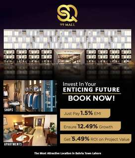 SQ 99-MALL & APARTMENTS. ONE BED SPACIOUS FLATS.