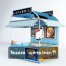 Booth container  booth bazzar  booth makanan  booth minuman  booth