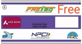 Get Axis Bank Fastag Free Home delivered