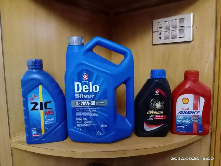 Delo silver  sae20-50 diesal engine oil 0