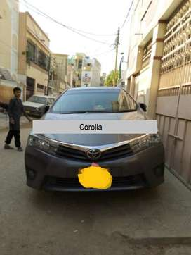 Toyota Corolla GLI on easy installment