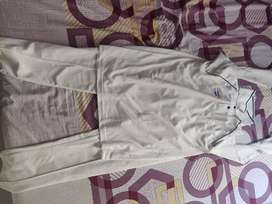 White cricket uniform dress