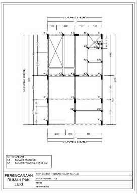 Jasa Desain Gambar Struktur Bangunan