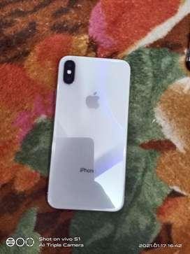 i phone x 64 gb with boll box
