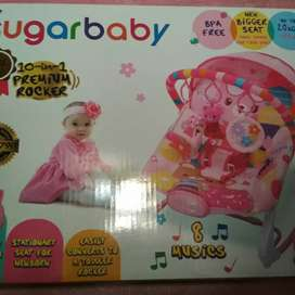BOUNCER SUGAR BABY PREMIUM TYPE ROCKER 10 in 1