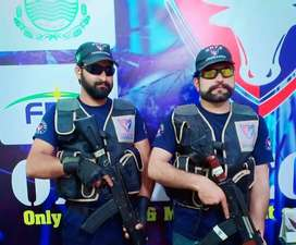 Required Security Guards and Supervisor