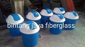 tempat sampah fiber 50liter,bak sampah bak sampah produksi baru