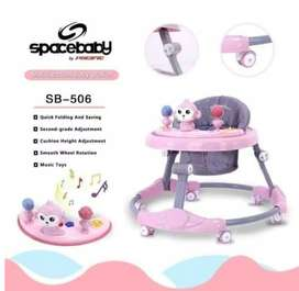 A02 SPACE BABY Baby Walker SB 507 / 506 / 505 Alat Bantu Belajar Jalan