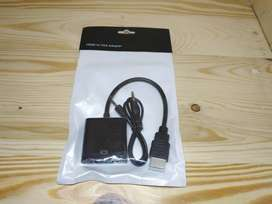 Converter Kabel HDMI to VGA with Audio