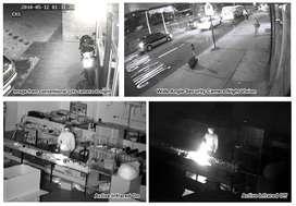 Paket CCTV 4CH 2 CAMERA 2MP FULL HD 1080P gambar bening dan kinclong