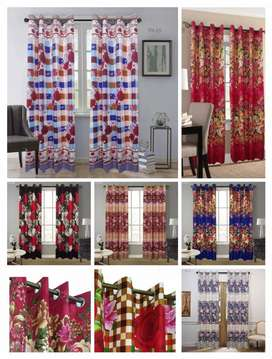 Printed Curtains New Style